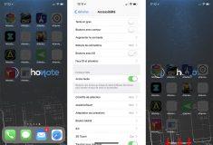 Comment activer et utiliser l'Accès facile sur iPhone X ?