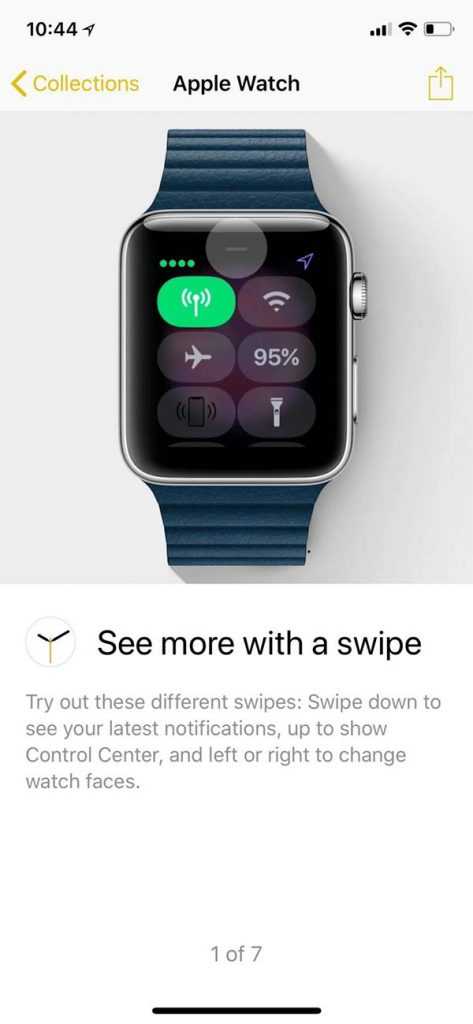 L'app Astuces se dote désormais d'une section « Apple Watch »