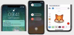 Apple donne des conseils de «Bienvenue sur l'iPhone X»