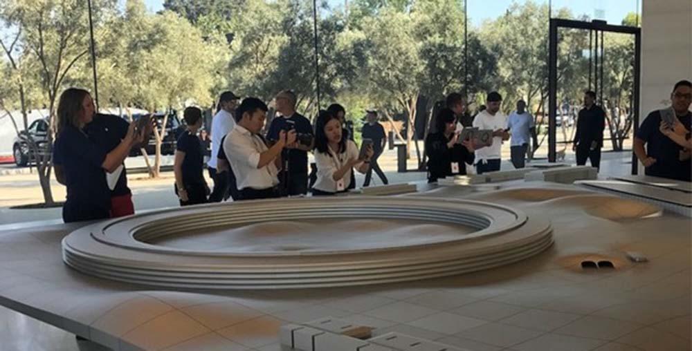 Apple Park : le Visitor Center a ouvert ses portes au public