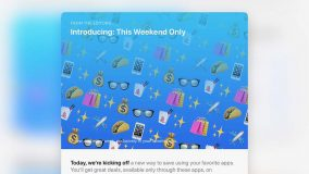 Apple ouvre sa nouvelle section « This Weekend Only» sur l'App Store US