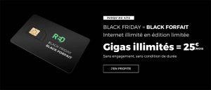 SFR RED lance une nouvelle offre mobile avec Data Illimité pour 25€/mois