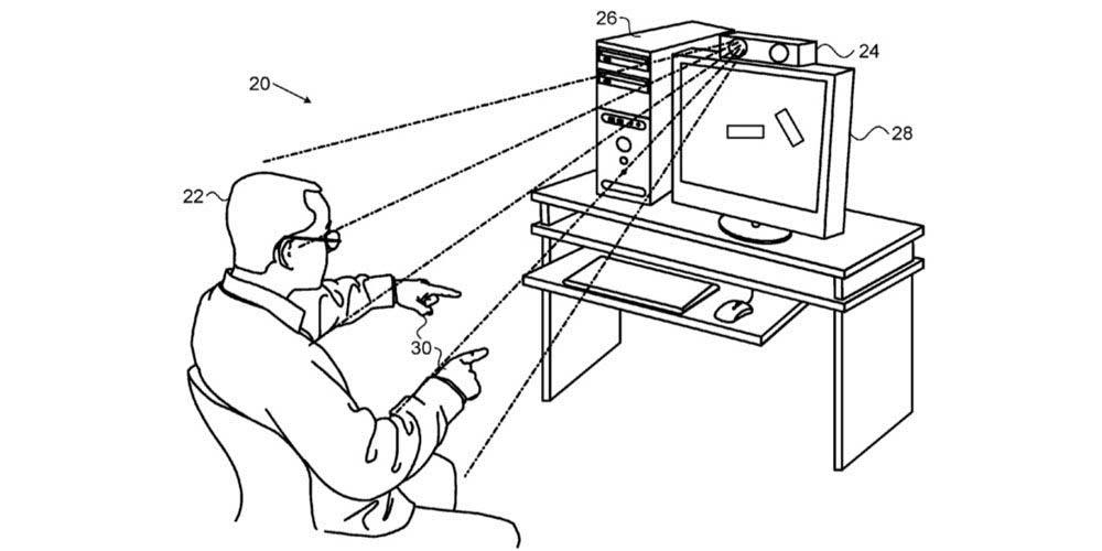 Brevet Apple / PrimeSense : des gestes de la main pour contrôler un Mac