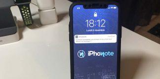 Face ID déverrouille automatiquement l'iPhone X à la réception d'une notification...si vous le regardez !