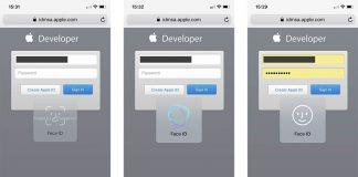 Face ID utile aussi pour le remplissage automatique des mots de passe