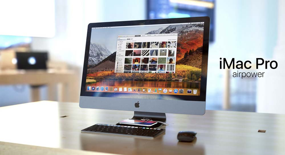 iMac Pro AirPower, le nouveau concept de Martin Hajek