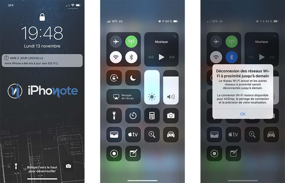 iOS 11.2 bêta 3 : voici la liste de toutes les nouveautés