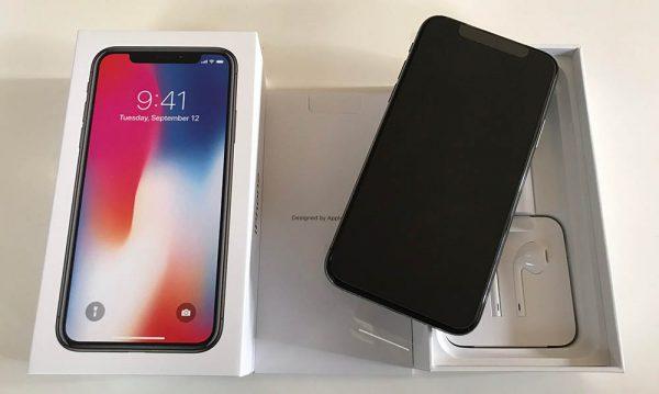 l 39 iphone x 256go gris sid ral est arriv chez iphonote