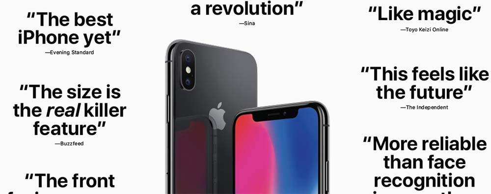 iPhone X : Apple fait la lumière sur les meilleures critiques