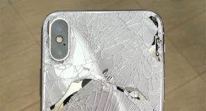 iPhone X : à peine arrivé, déjà cassé ! Voilà le résultat !