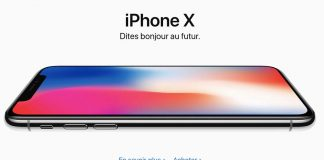 L'iPhone X est maintenant en vente !