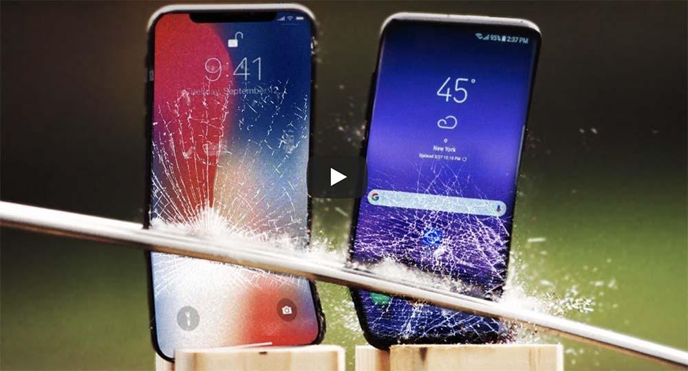 Quand tu reçois ton iPhone X, tu peux téléphoner ou...le fracasser ! [Vidéo]