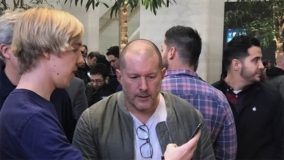 Londres : Jony Ive se rend en Apple Store à l'occasion du lancement de l'iPhone X