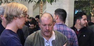 Londres : Jony Ive se rend en Apple Store à l'occasion du lancement de l'iPhone X