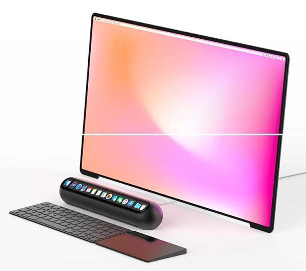 Et si le Mac mini prenait l'allure d'une enceinte avec Touch Bar [Concept]