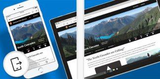 Microsoft Edge arrive sur l'App Store US