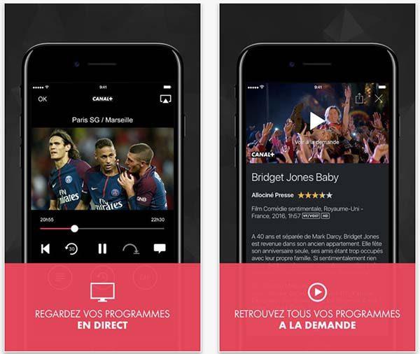myCANALrevient avec le support de l'iPhone X et plein d'autres choses