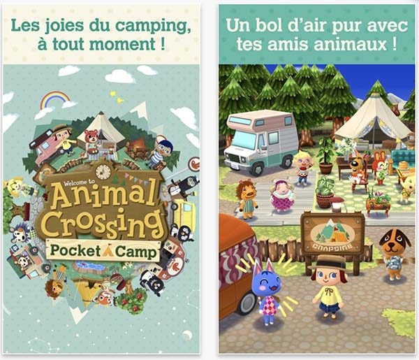 Nintendo : Animal Crossing Pocket Camp bientôt disponible sur iOS et Android