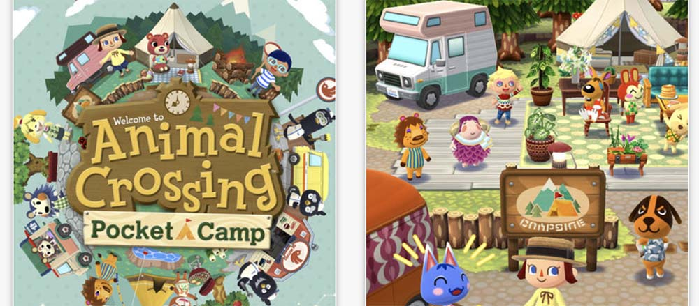 Nintendo - Animal Crossing: Pocket Camp est disponible sur l'App Store