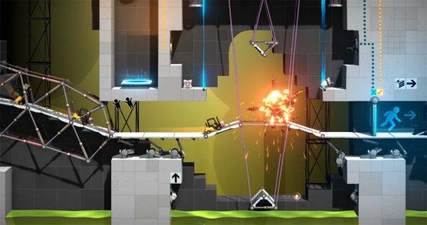 Le prochain jeu Portal sera un spin-off de Bridge Constructor