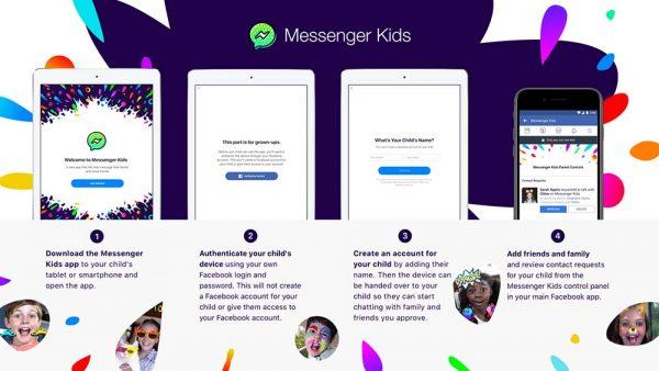 Facebook lance une application pour les enfants — Messenger Kids