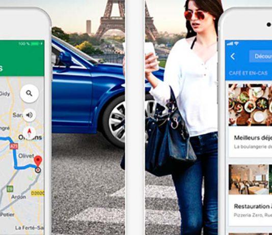 Google Maps: cartes relookées, accès aux avis plus simple et filtrage dans le widget Google Transports