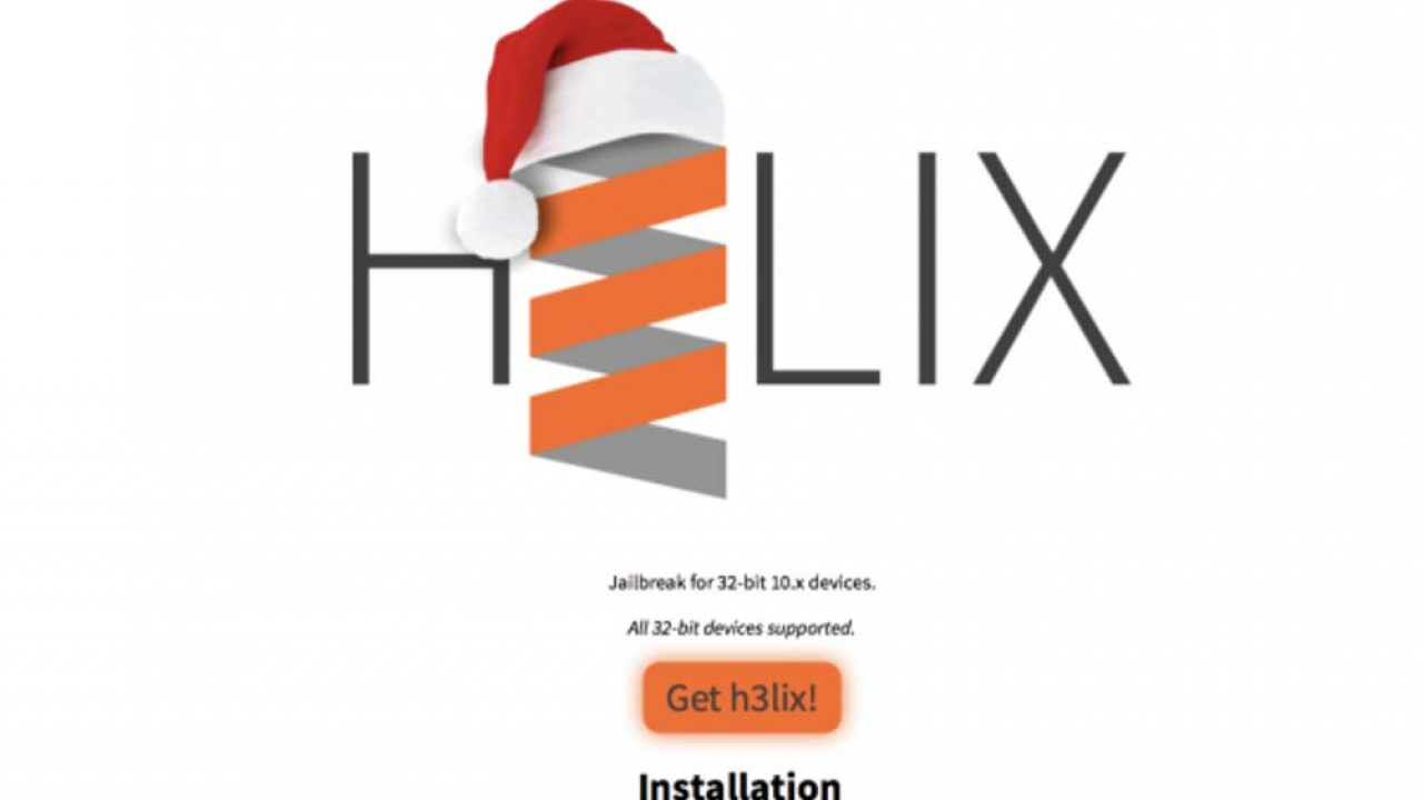 H3lix : Jailbreak iOS 10 3 3 (32 bits) disponible ! [Tutoriel]