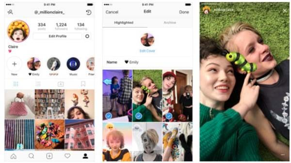 Les archives rendent vos stories permanentes — Instagram Stories