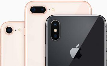 iPhone X & 8/8 Plus : des ventes en dessous de l'iPhone 6/6 Plus