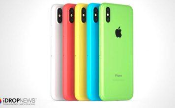 iPhone Xc : le mélange parfait entre l'iPhone 5c et l'iPhone X [Concept]