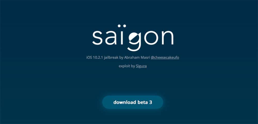 Jailbreak Saïgon mis à jour pour un support plus large d'appareils et un meilleur taux de réussite