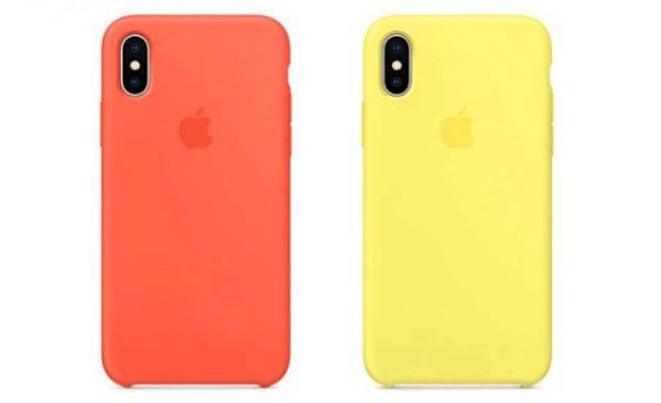 iphone x coque orange