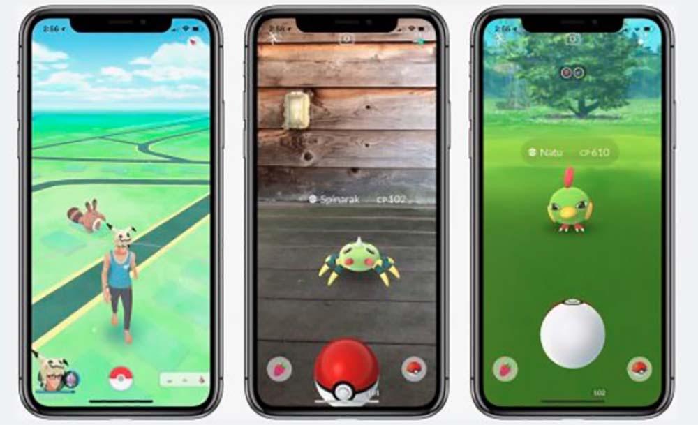 Pokemon GO prend en charge ARKit avec la dernière mise à jour