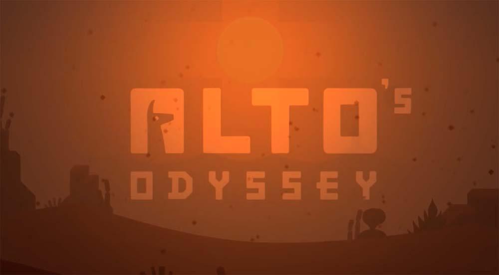 Alto's Odyssey est disponible en pré-commande sur l'App Store