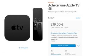 apple am liore les d lais de livraison de l 39 apple tv 4k. Black Bedroom Furniture Sets. Home Design Ideas
