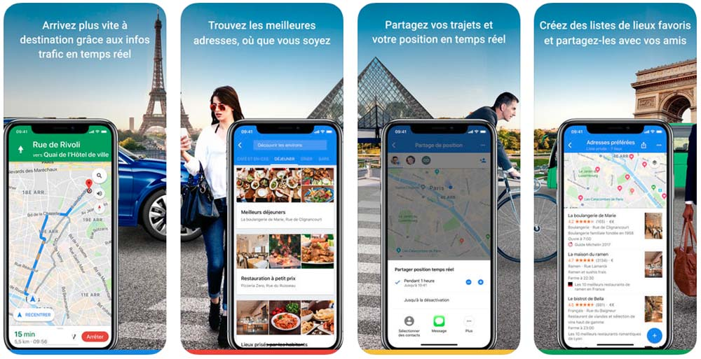 google maps indique maintenant les d lais d 39 attente et les avis sur les restaurants. Black Bedroom Furniture Sets. Home Design Ideas