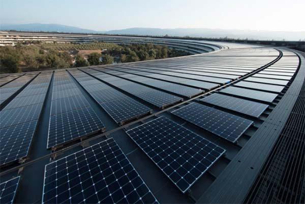 Apple assure fonctionner uniquement à l'énergie renouvelable