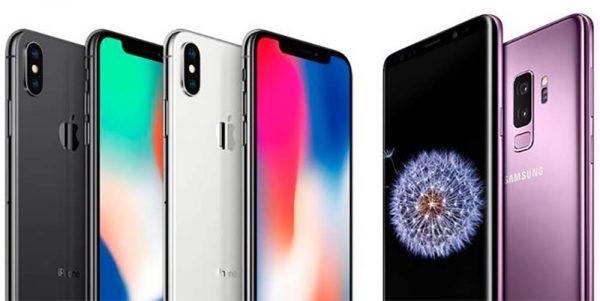 Apple réduit l'écart de ventes avec Samsung — IPhone