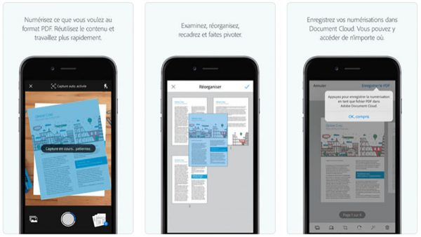 Nous Rappelons Galement Que Adobe Scan Transforme LiPhone En Un Scanner Portable Qui Reconnat Automatiquement Le Texte Utilisant La Technologie