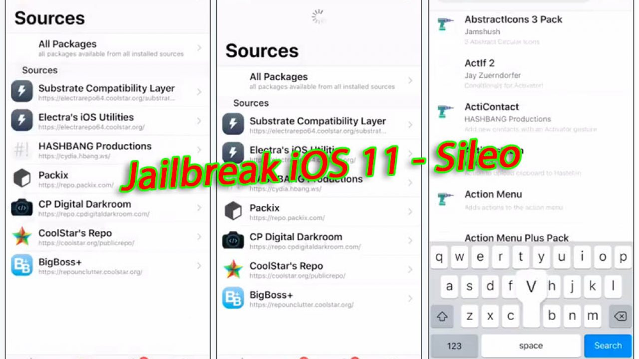 Jailbreak iOS 11 : démonstration de Sileo, l'alternative à Cydia [Vidéo]