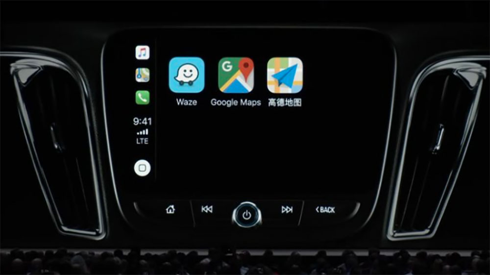 ios 12 waze en b ta sur carplay tomtom d s 2019. Black Bedroom Furniture Sets. Home Design Ideas