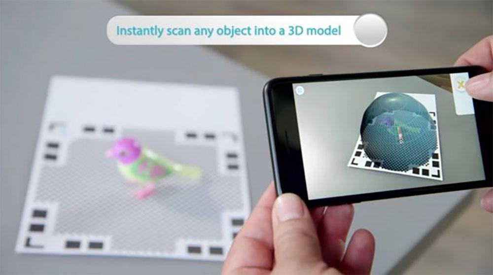 qlone transforme votre iphone et ipad en scanner 3d. Black Bedroom Furniture Sets. Home Design Ideas