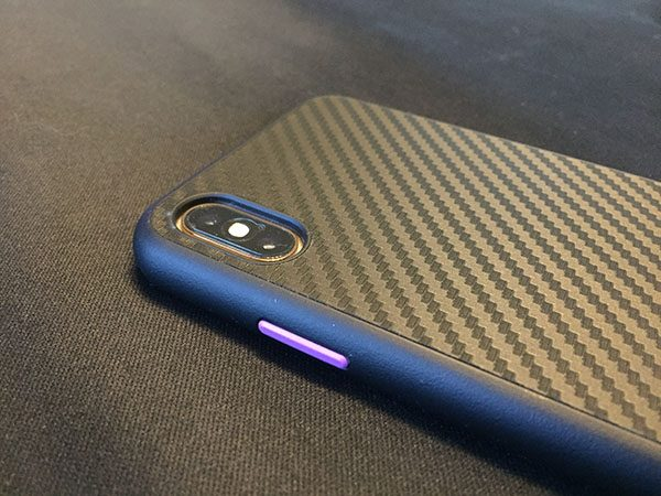 coque iphone xs max microfibre