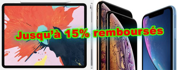 Promos iPad Pro, iPhone XR, iPhone XS