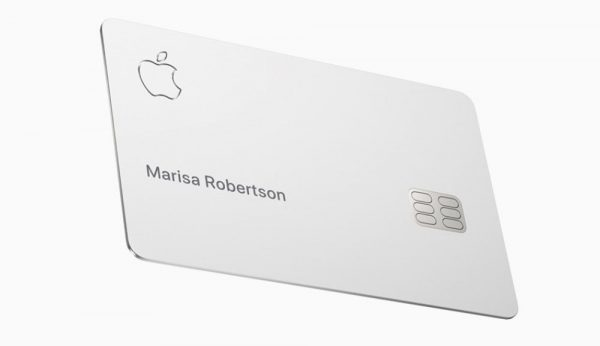 Apple Card : la jolie carte de crédit d'Apple