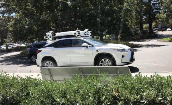 véhicules autonomes Apple