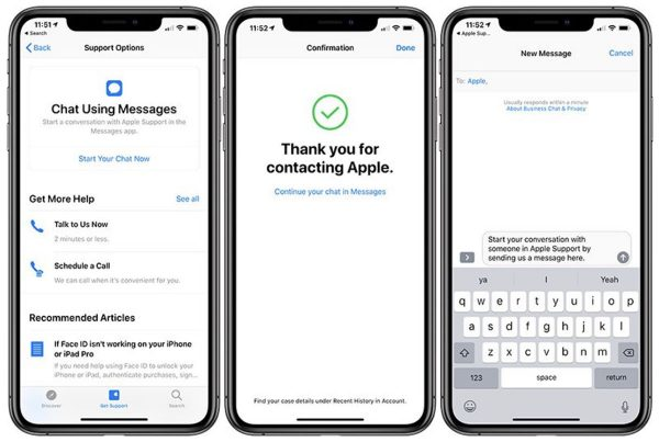 iMessage - Support Apple