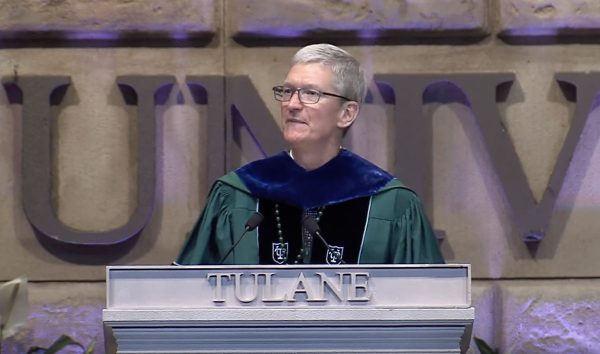 Tim Cook à l'Université Tulane