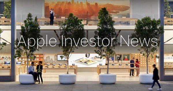 Résultats financiers T3 Apple