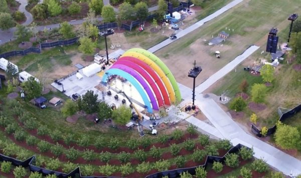Apple Park - scène Arc-en-ciel